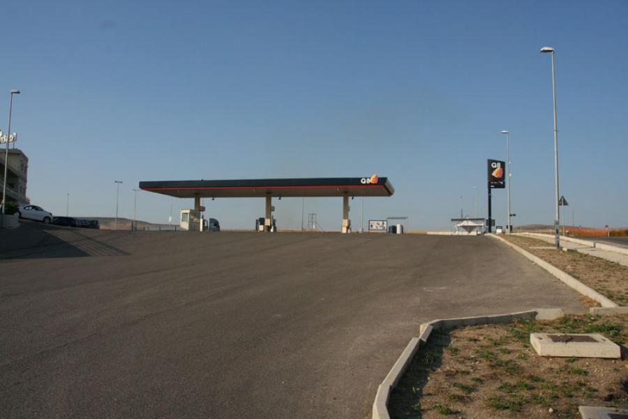 Cantiere Stazione di servizio Total